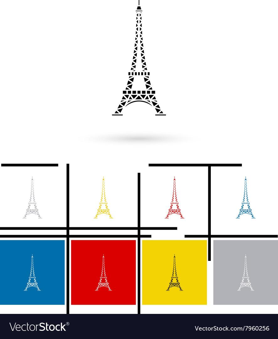 Eiffel Tower in Paris icon