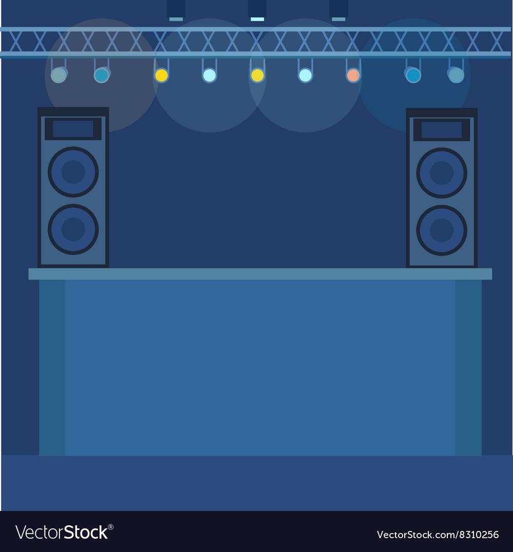 Music scene background