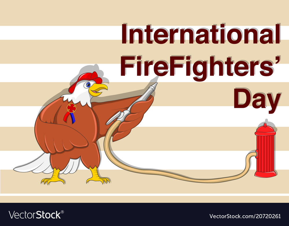 For international firefighters day