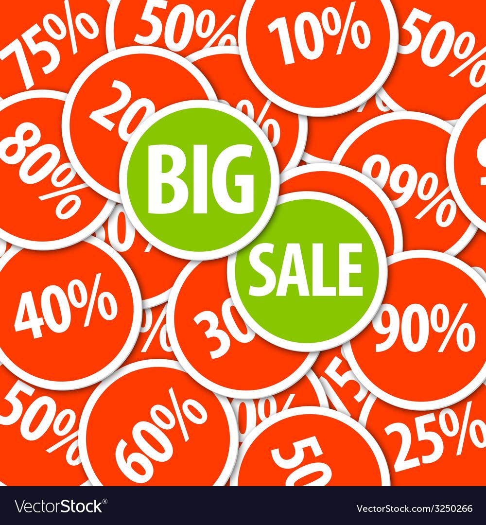 Discount sale background