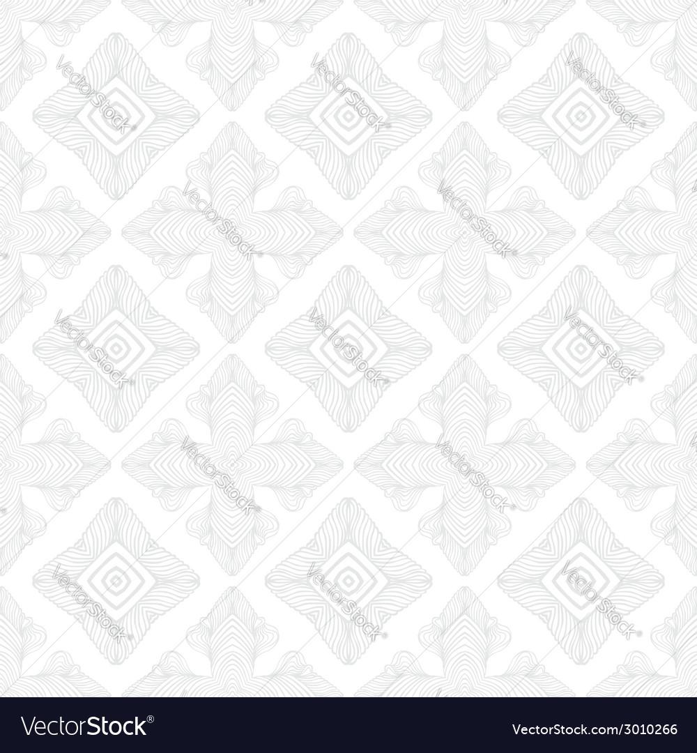White vintage geometric texture in art deco style