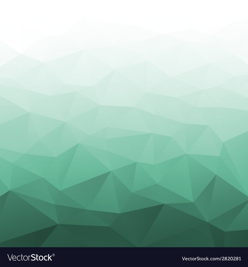 Abstract Gradient Green Geometric Background