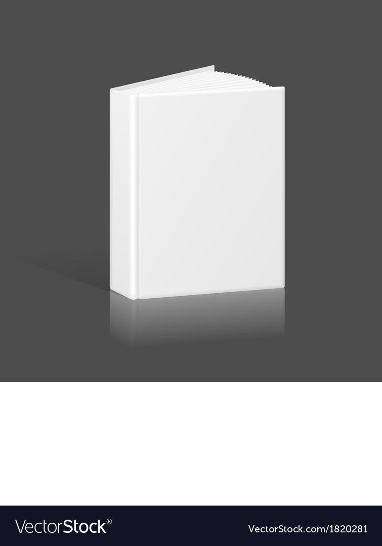 Blank Book Binder Or Folder Template