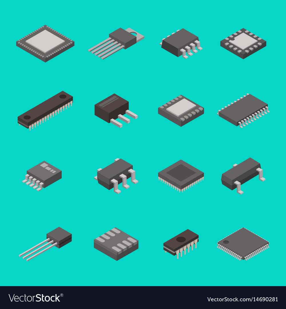 Isolated microchip semiconductor computer