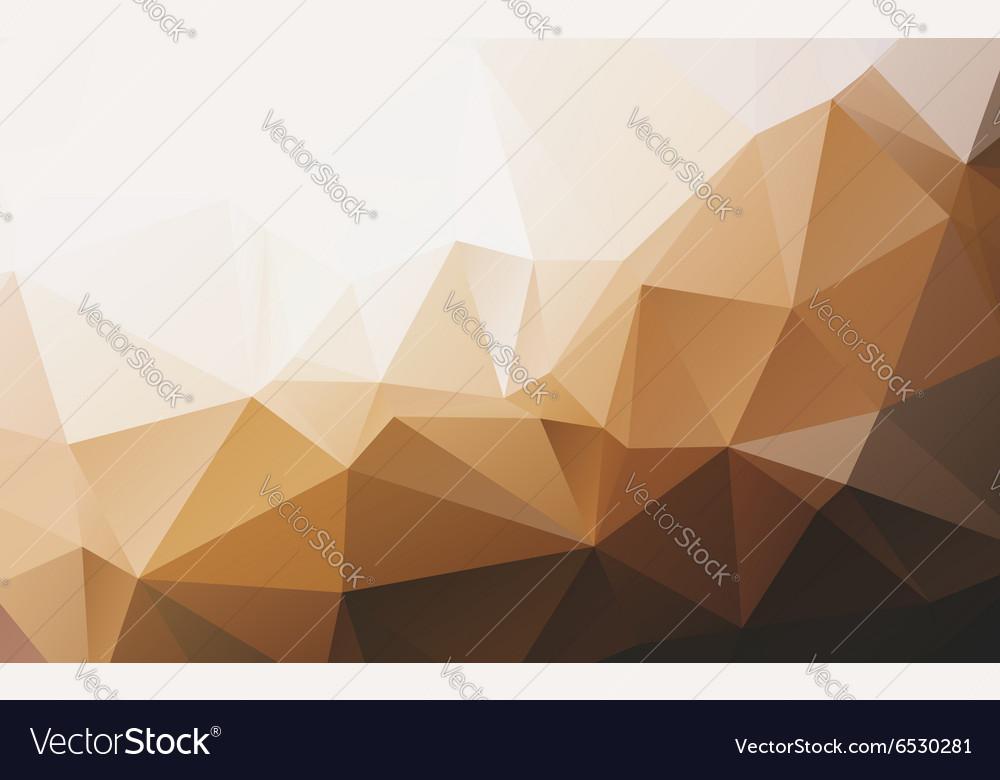 Polygonal abstract wallpaper