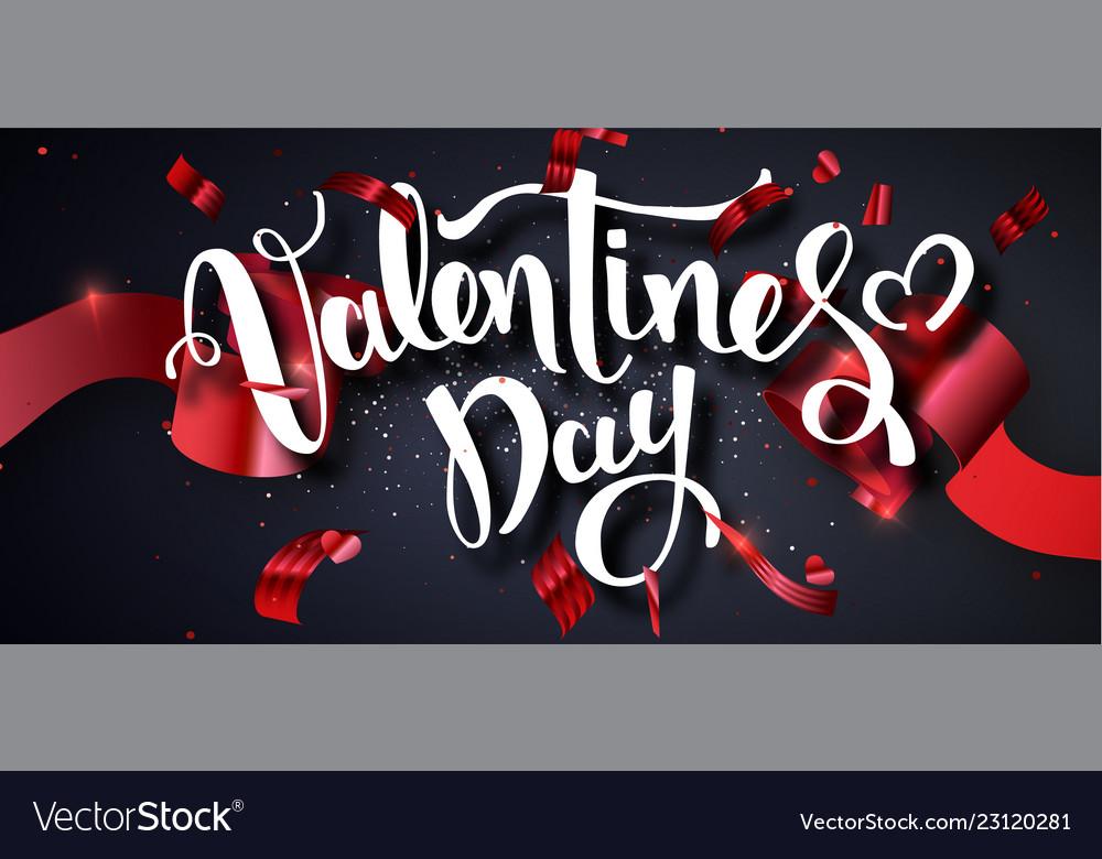 Valentines day design template