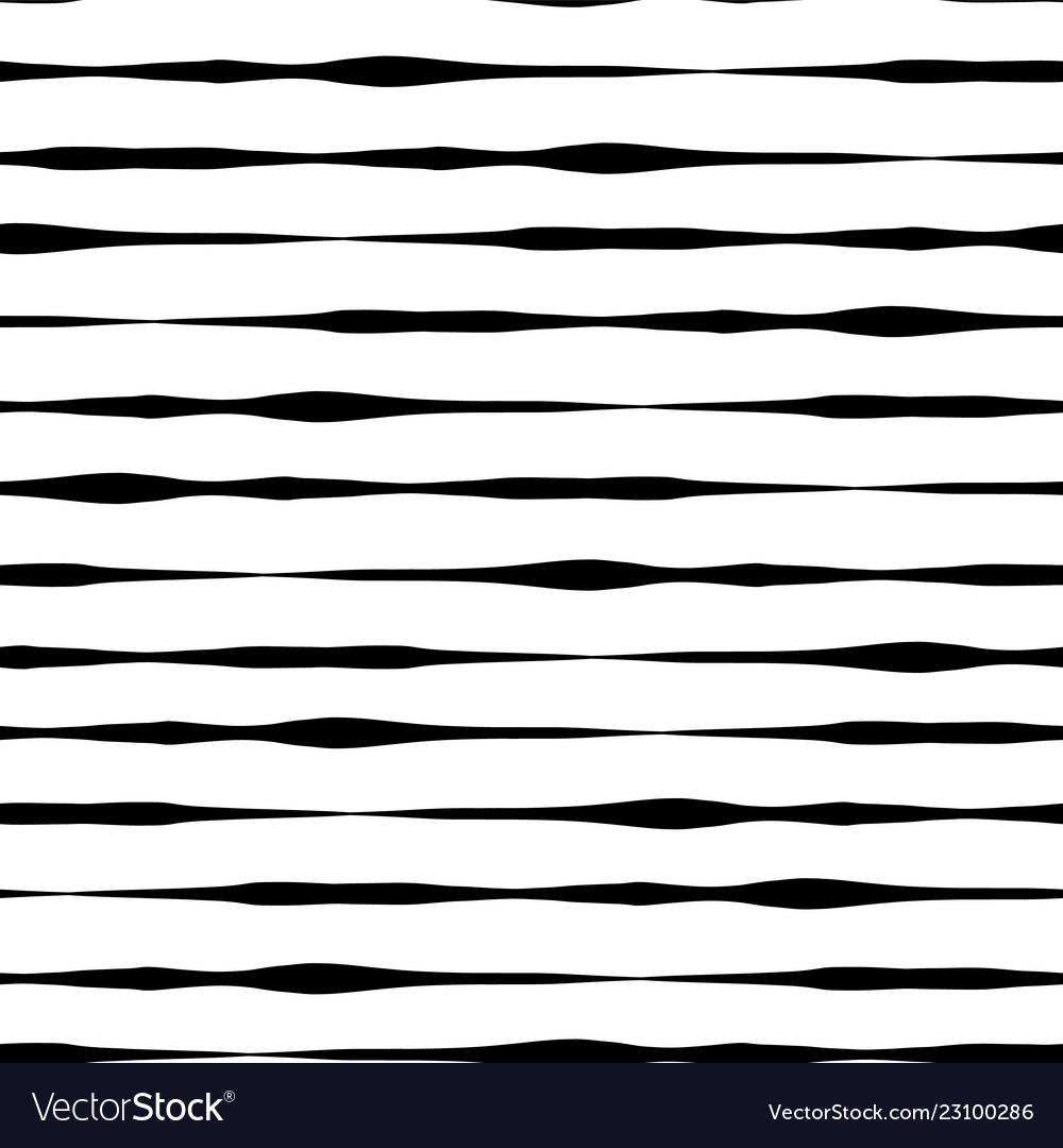 Black white drawn lines seamless background