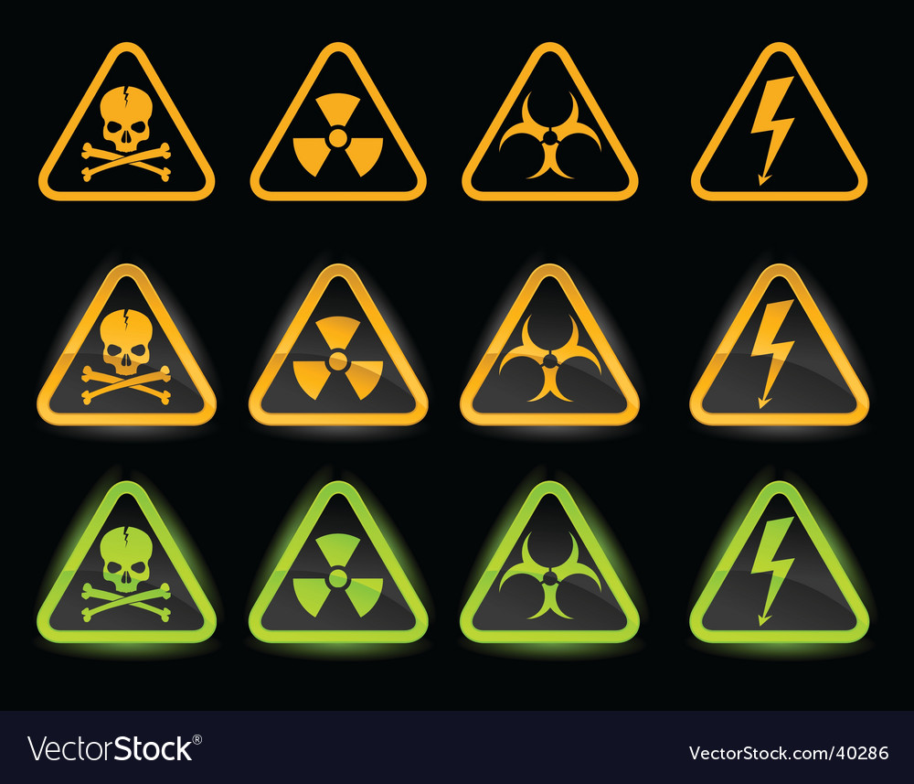 collection of industrial icons vector