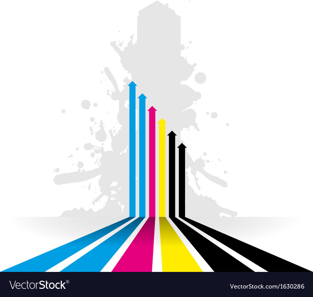 Coloured line strip background
