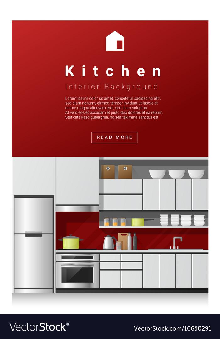 Interior design Modern kitchen banner 1