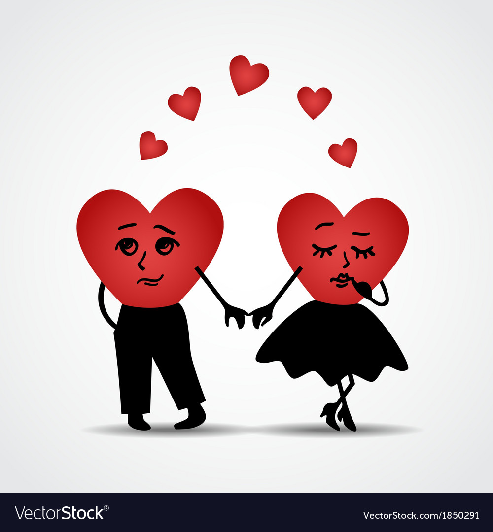 Two hearts in love