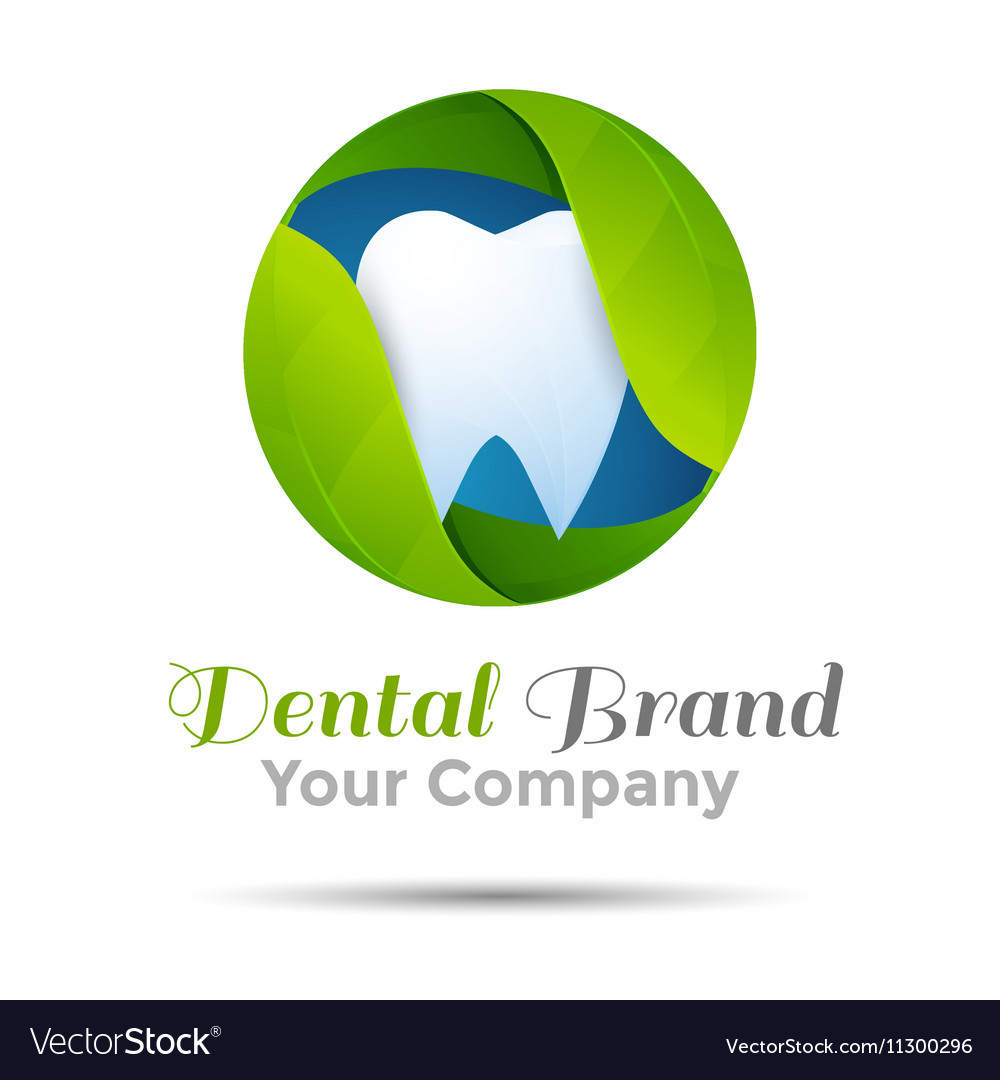 Dental logo or symbol design Template for your vector image