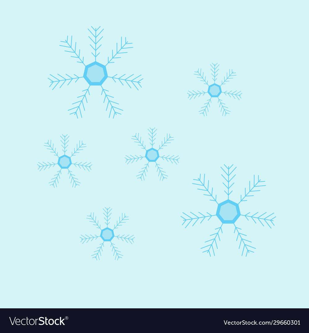 A light blue ice flower gra