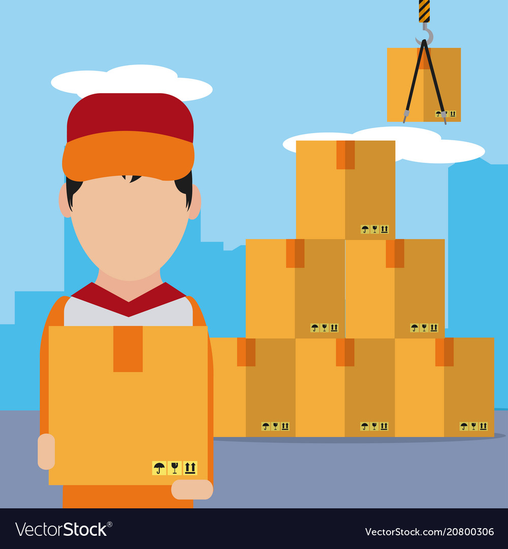 Delivery and logistics concept