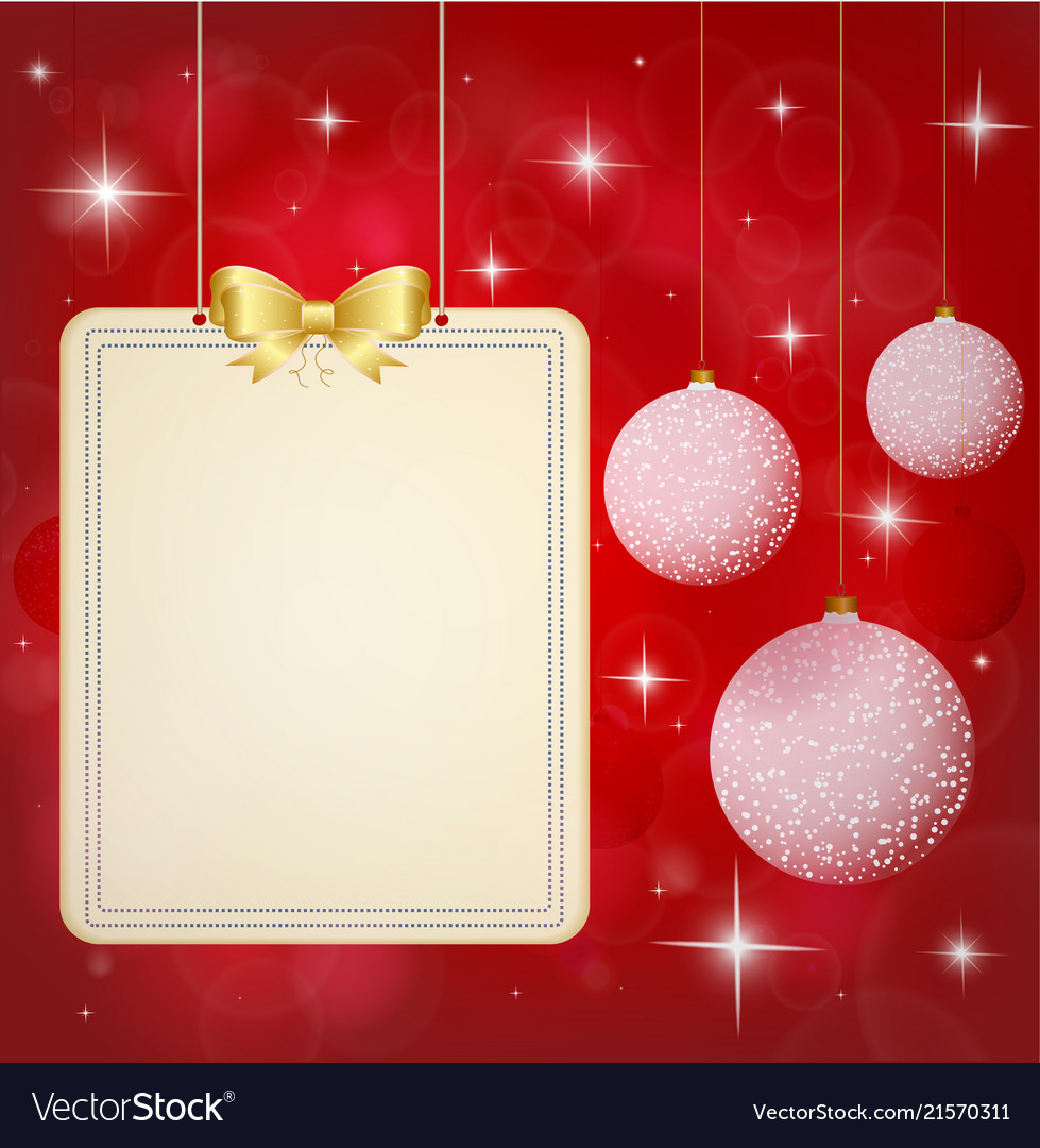 Christmas background banner with festive