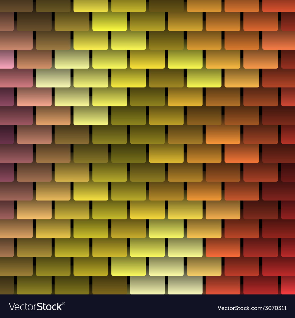 Colored Shingles Background