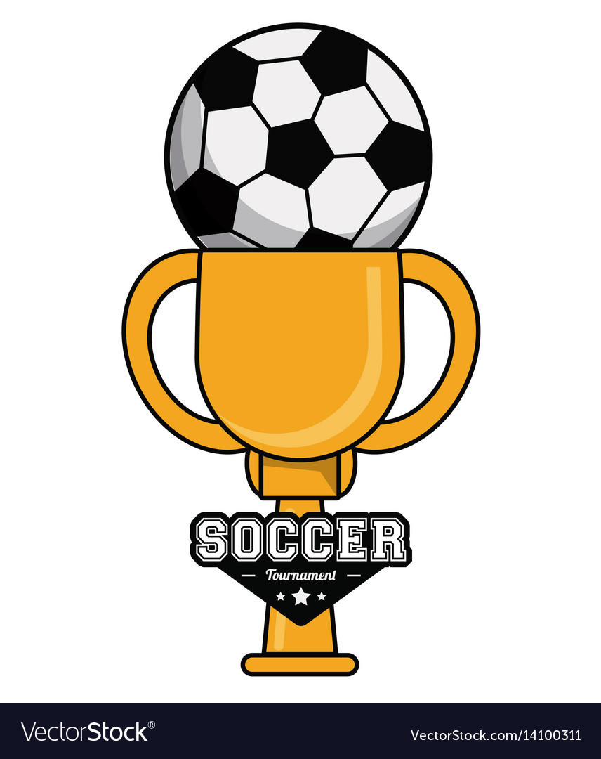 Soccer sport ball trophy tournament image