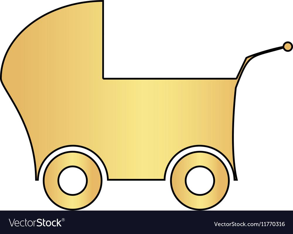 Baby Stroller computer symbol