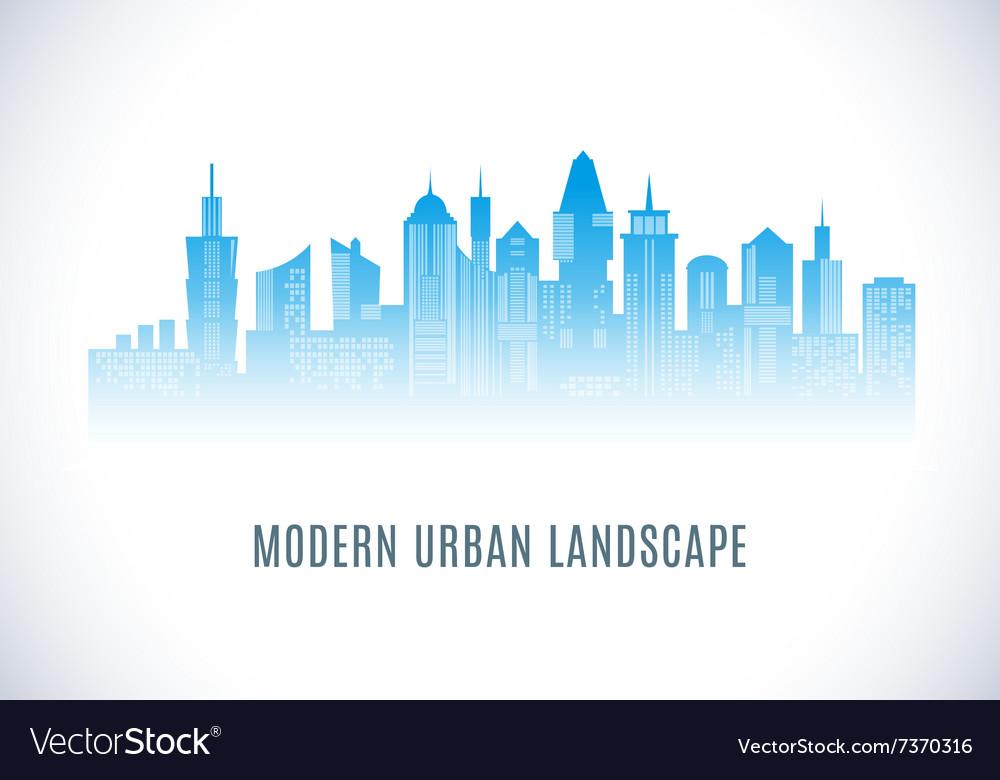 City urban design abstract landscape