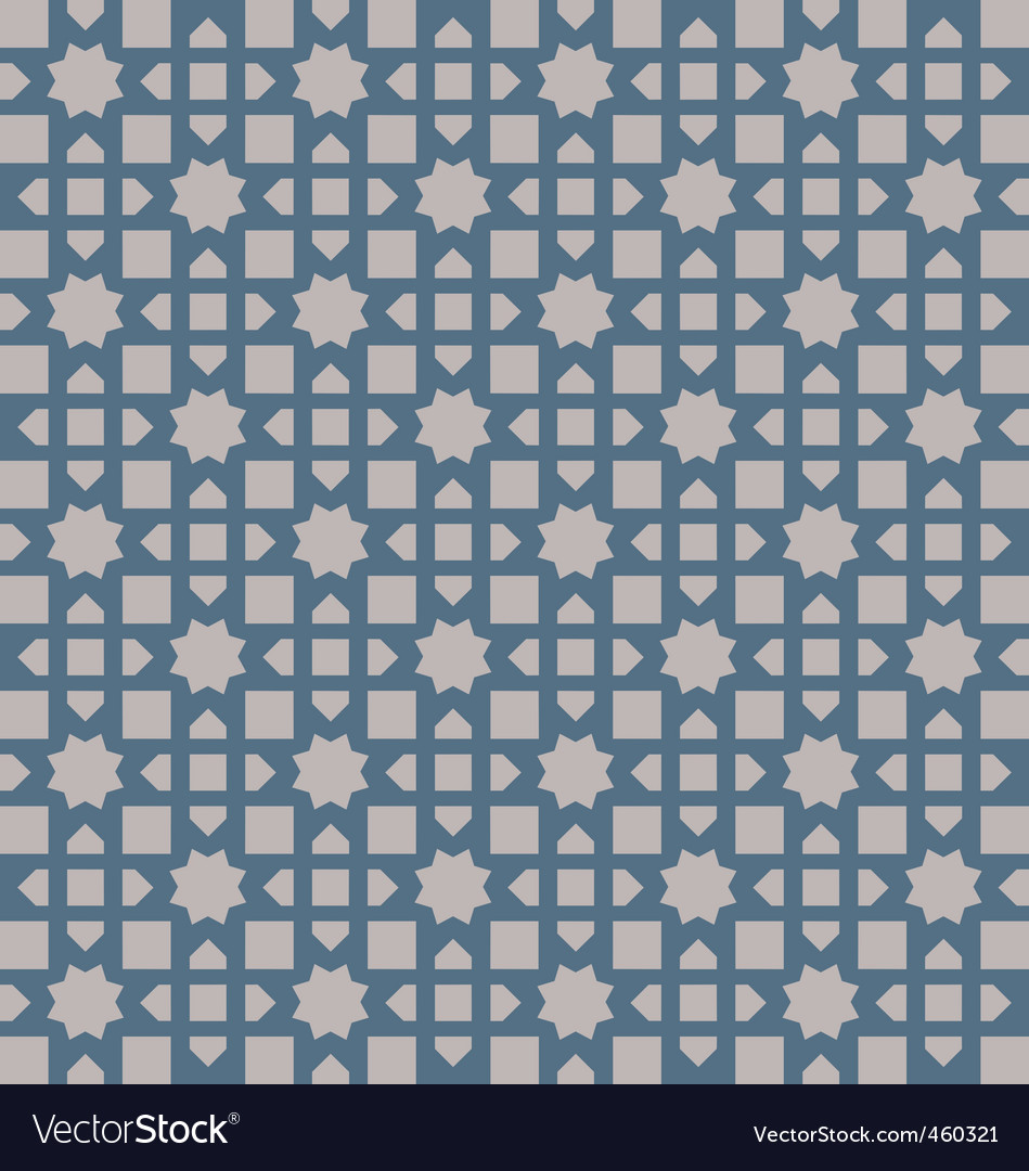 Asian pattern vector image