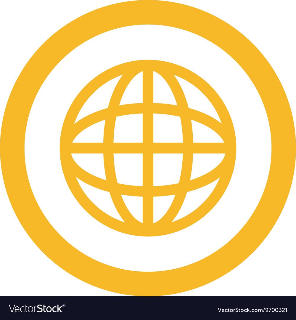 Wondrous Earth Globe Diagram Inside Circle Icon Royalty Free Vector Wiring 101 Archstreekradiomeanderfmnl