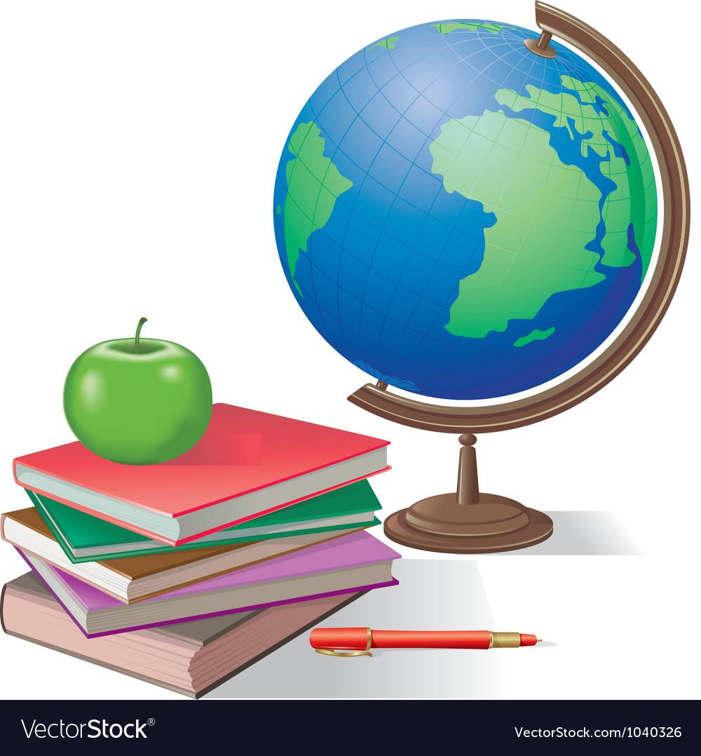 данной статье предметные картинки глобус и книги вывод наших