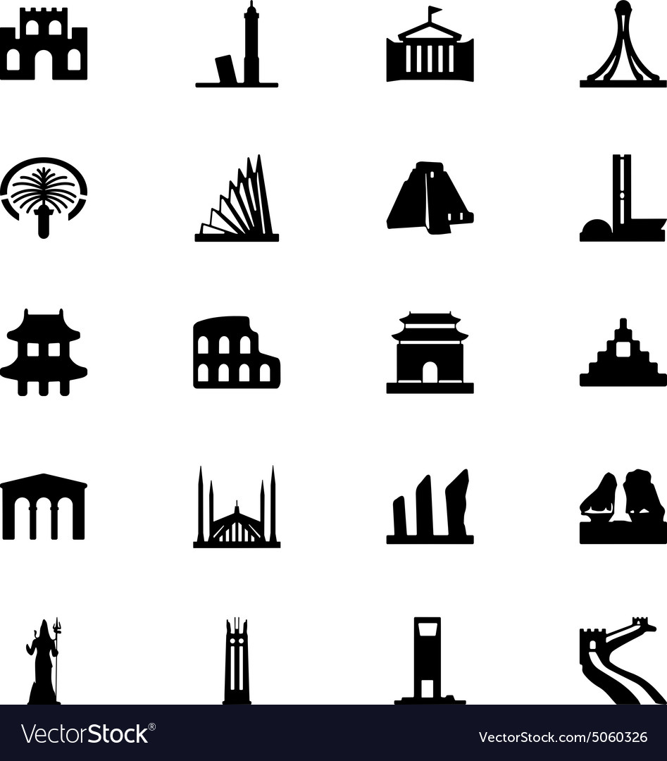 Monuments Icons 4