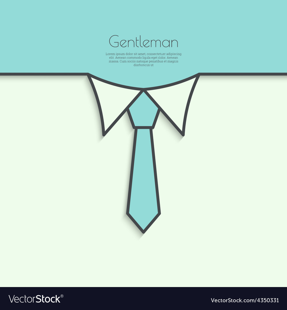 Abstract background with men ties
