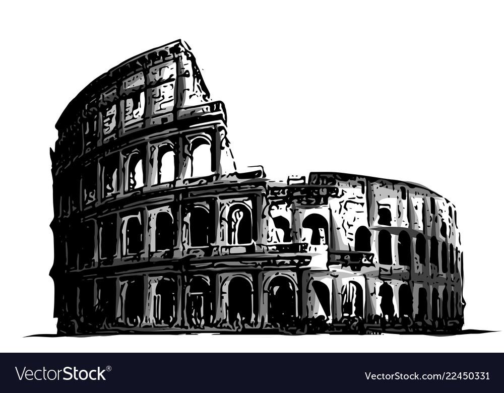 Fro italy colosseum building landmark