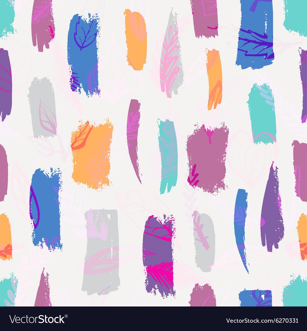 Seamless brush pattern