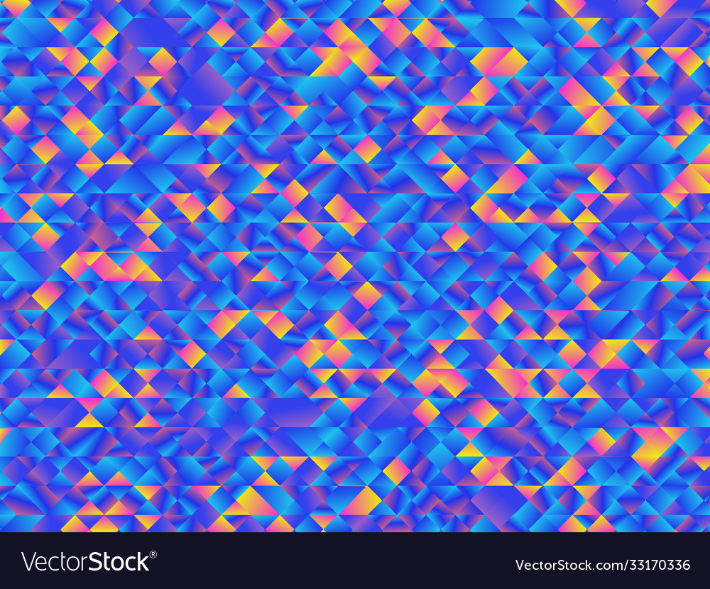 Color gradient polygonal which