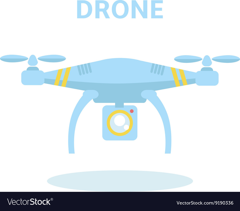 Drone icon Quadrocopter