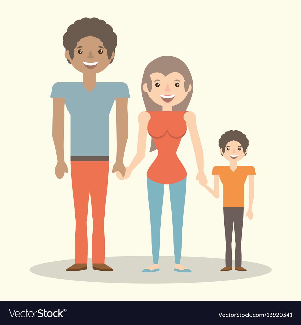 Family parents child member