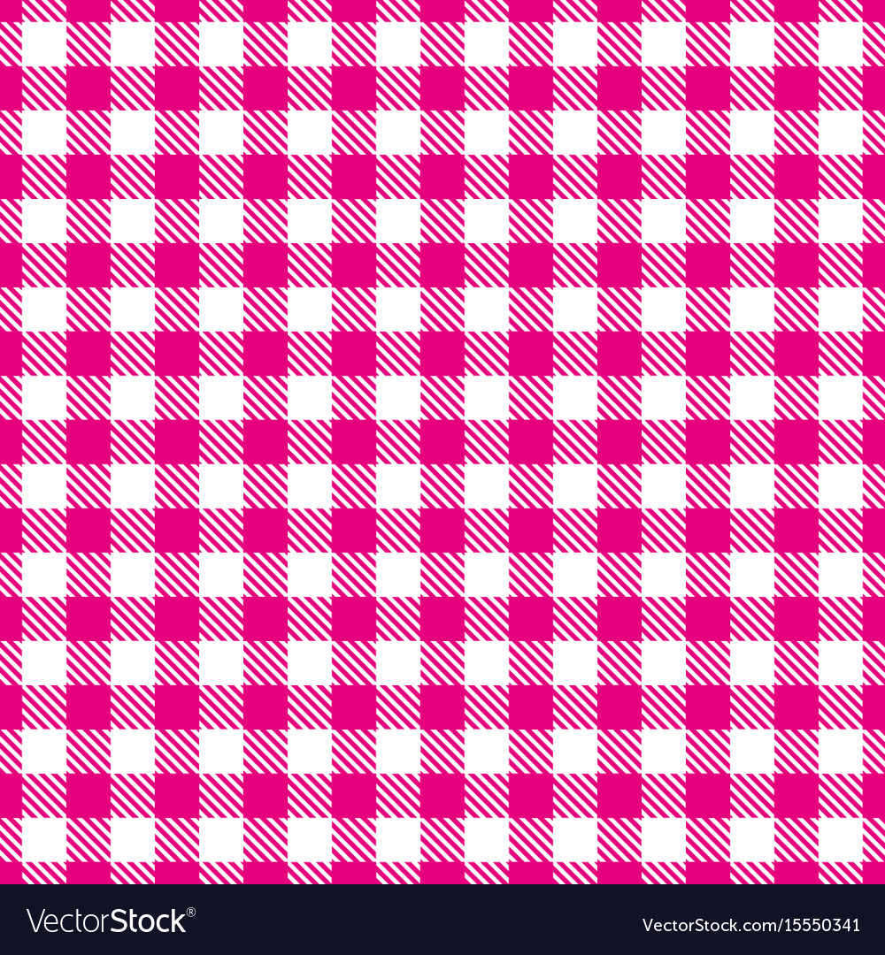 Pink white seamless pattern traditional fabric