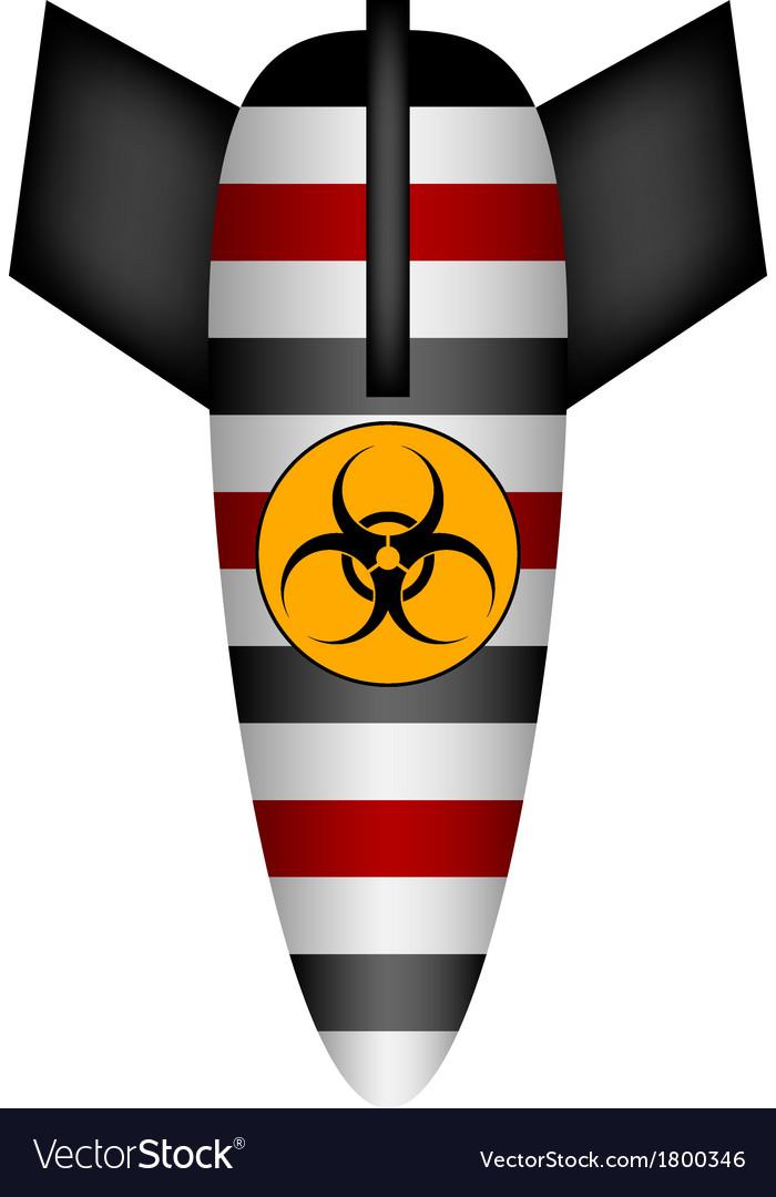 Biohazard Bomb vector image