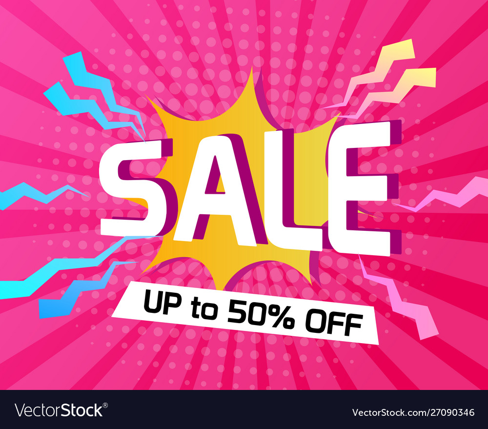 Modern sale abstract background