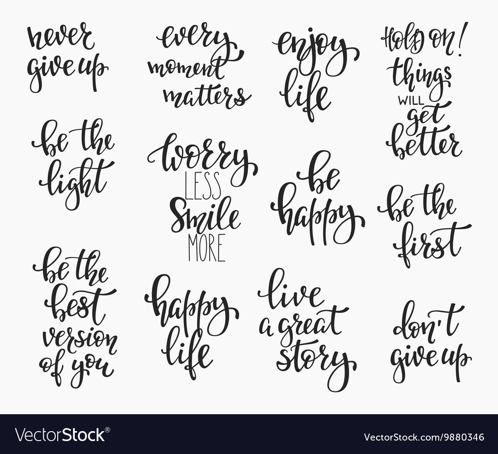 Photography family positive quotes overlay set