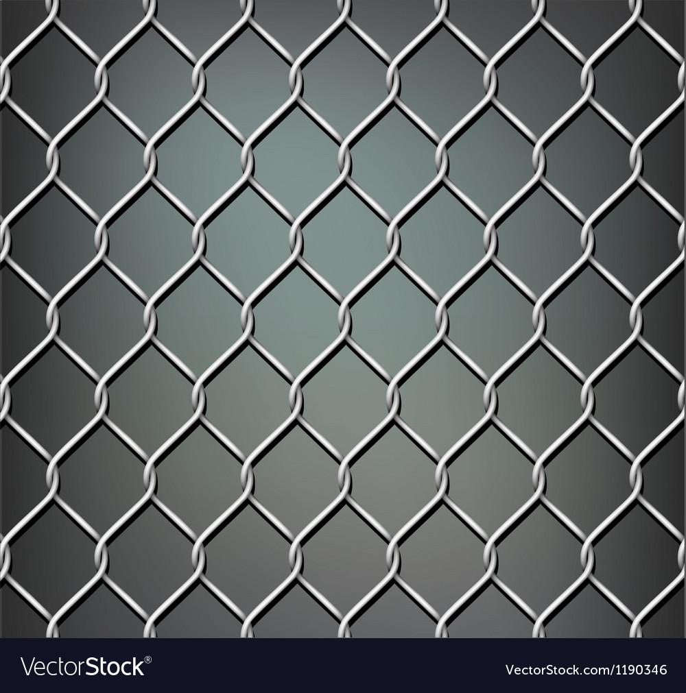 Seamless metal grid
