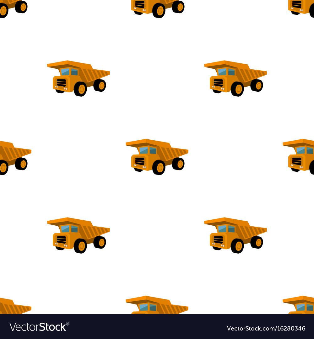 Yellow dump truck with black wheelsthe vehicle