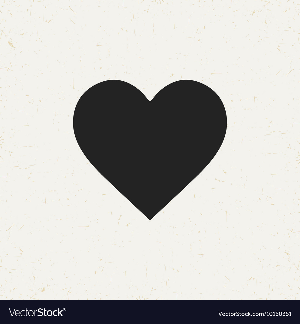 Isolated Heart Icon