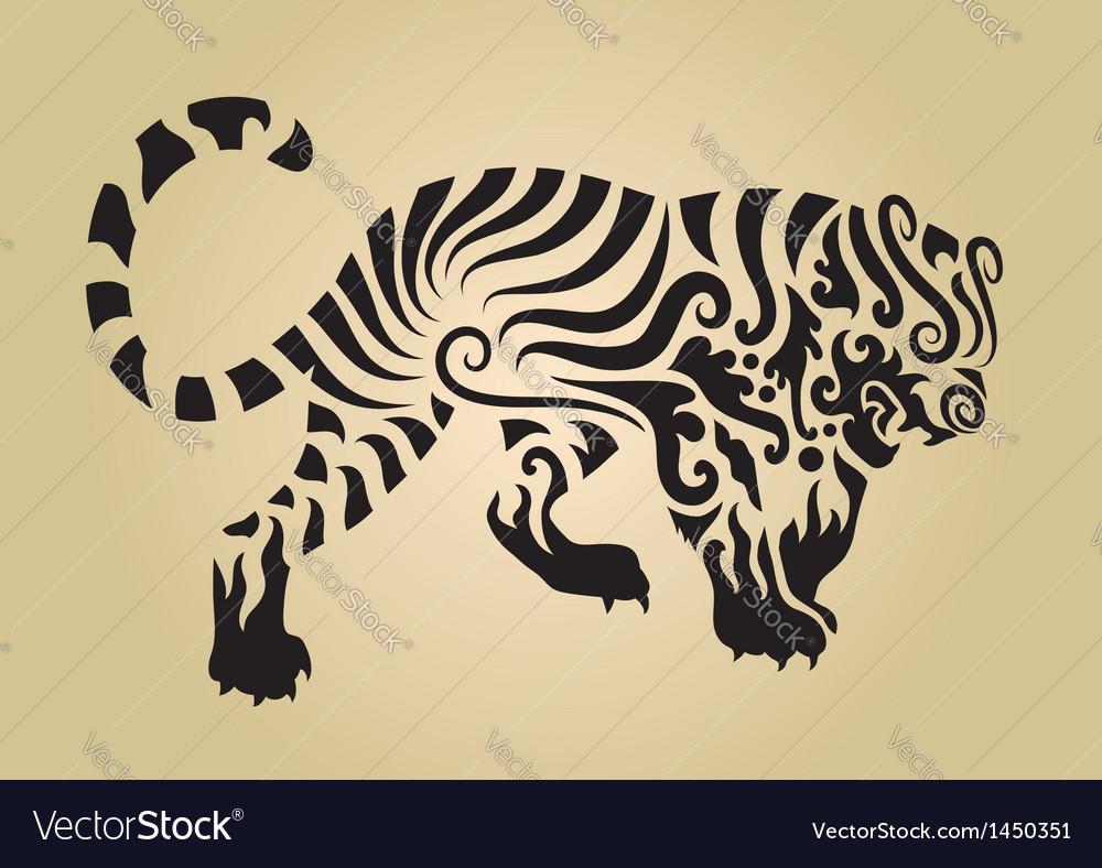 Tiger ornament decoration 3
