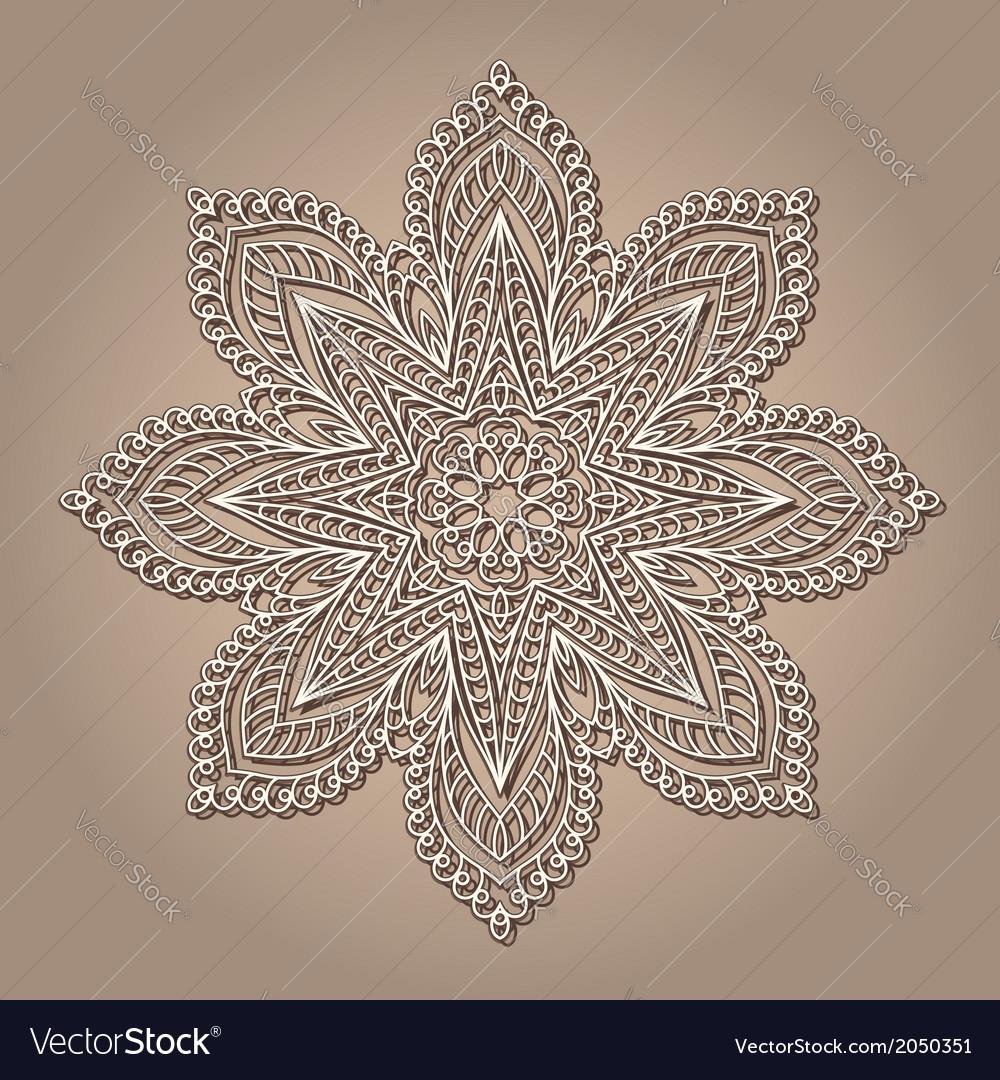 Vintage lace doily