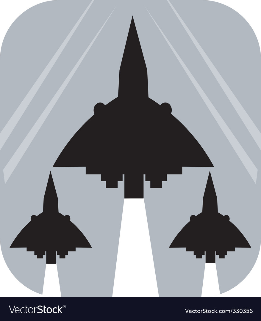 Air show vector image