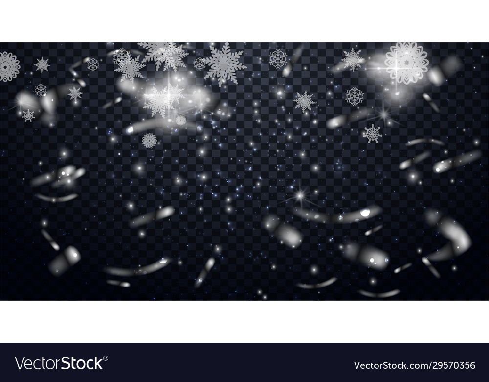 Falling snowflakes falling snow effect on