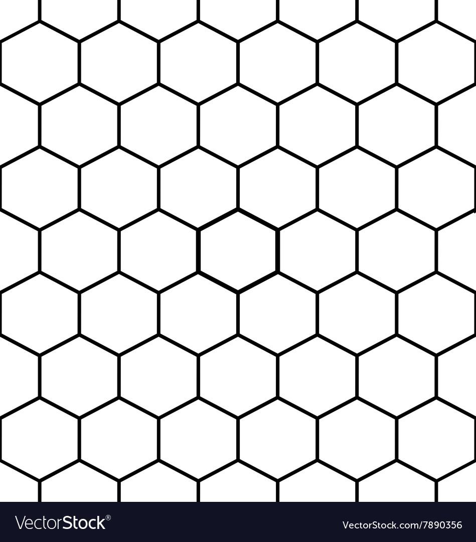Hexagon Pattern Vector Amazing Design