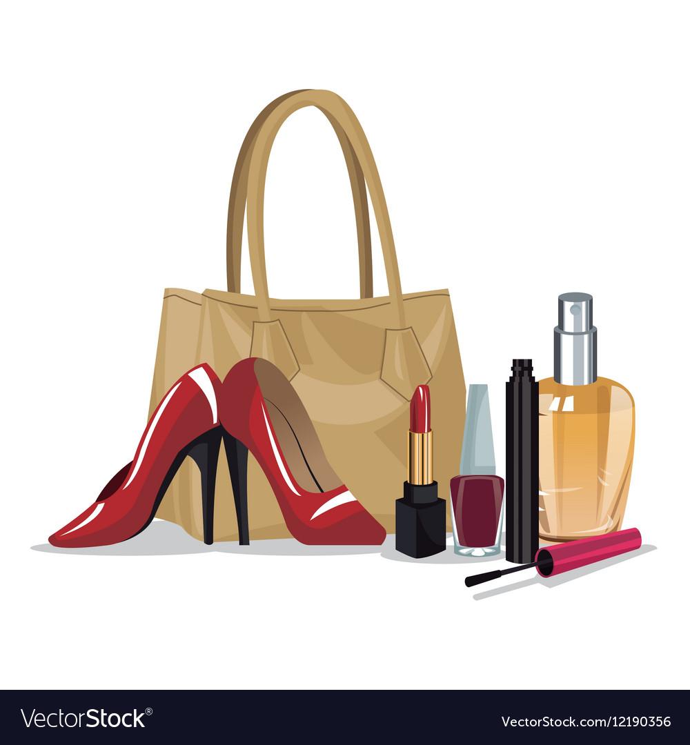 Set beauty makeup cosmetic accesory wo fashion