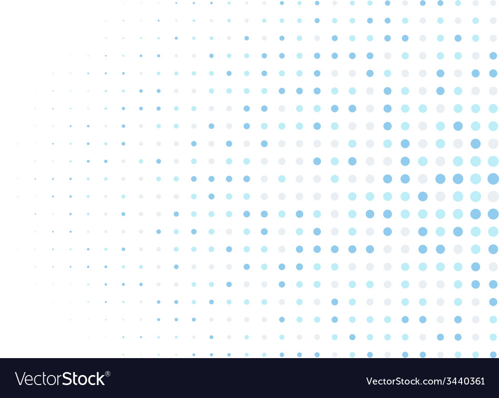 Abstract circle pixel mosaic background