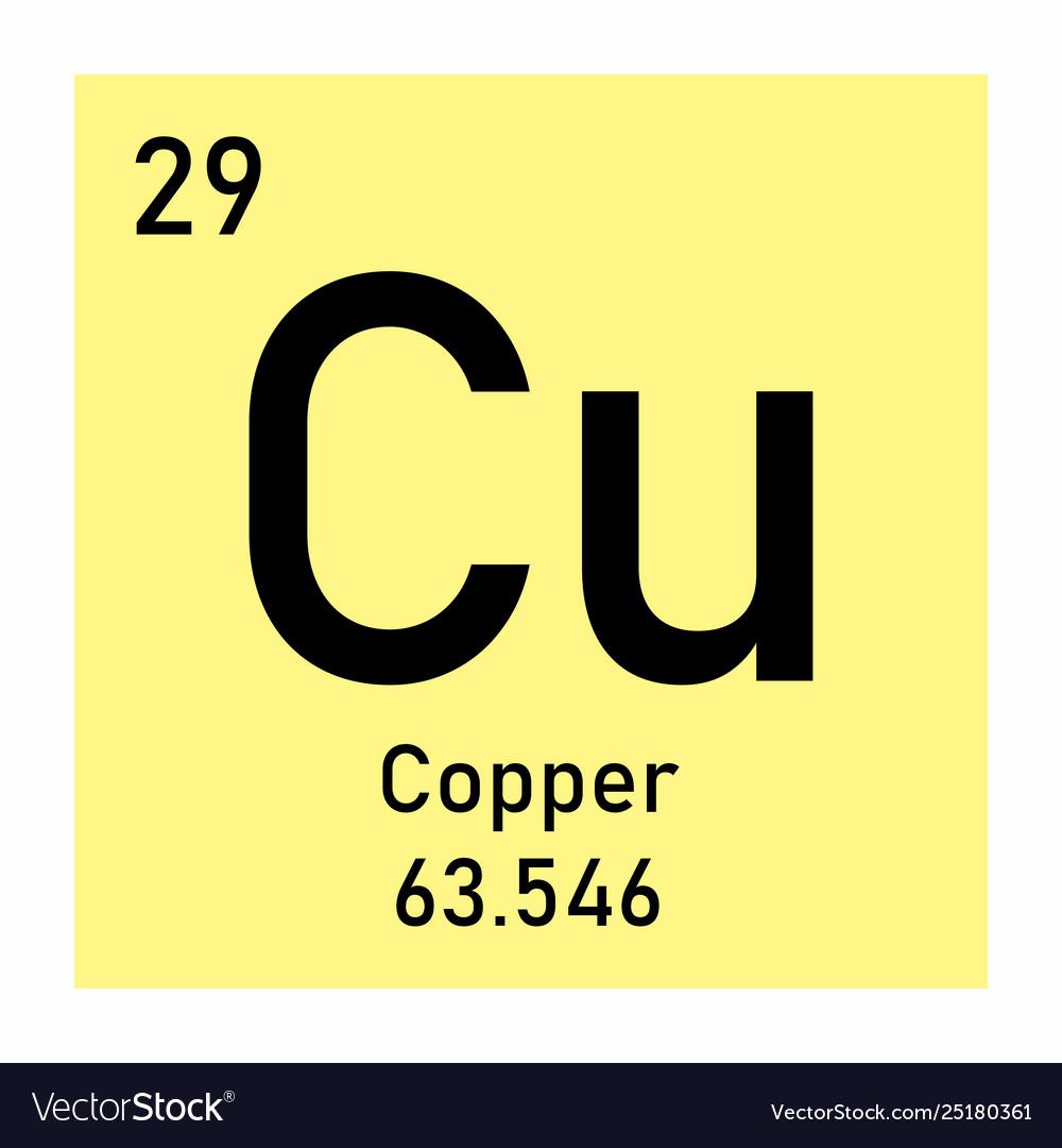 Copper element icon
