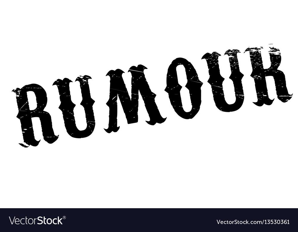 Rumour rubber stamp