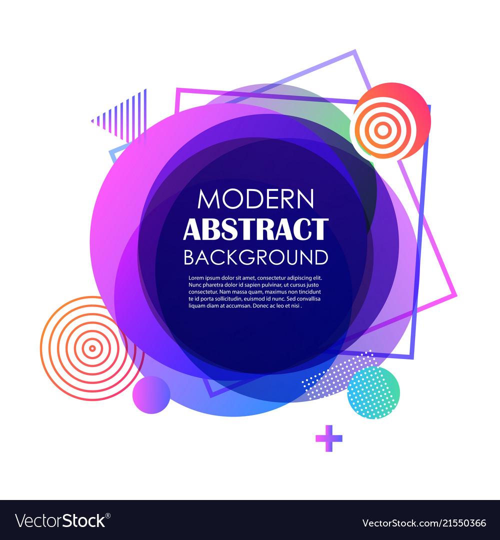 Abstract purple gradient geometric pattern design